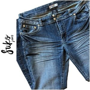 Suko Boot Cut Stretch Denim Jeans